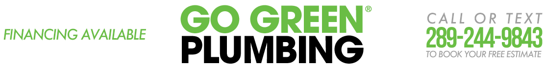 Go Green Plumbing – Niagara Region Plumber Logo