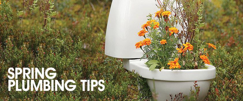 Spring-Plumbing-Tips