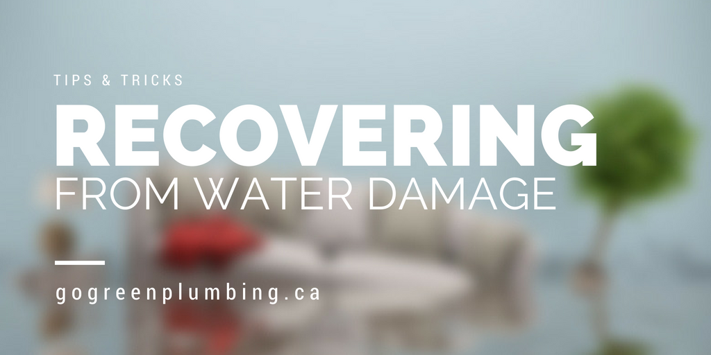 recovering from water damage blog header